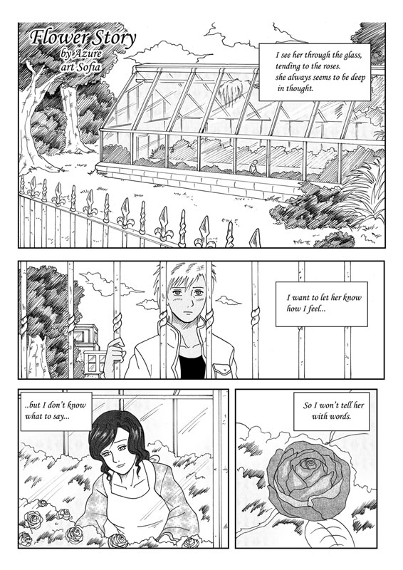 Flower Story manga click here to read