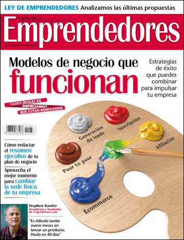 "SHOOTER on ""EMPRENDEDORES magazine"""