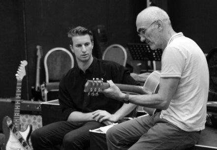 James Freeman with Paul Kelly, St Kilda 2015