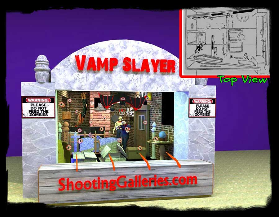 Vampire Slayer shooting gallery
