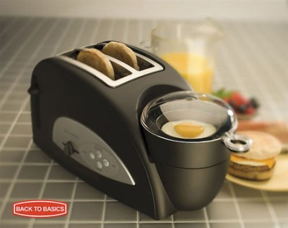 Toaster and Egg Poacher