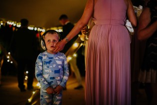 photos of kids at wedding with ear defenders