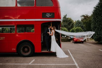 Get to your wedding on a London bus