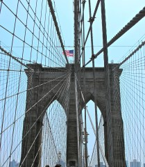 Brooklyn Bridge, NYC, NY.