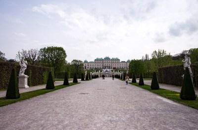 This way to the Palace. Vienna, Austria