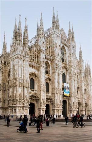 Duomo di Milano, exterior.