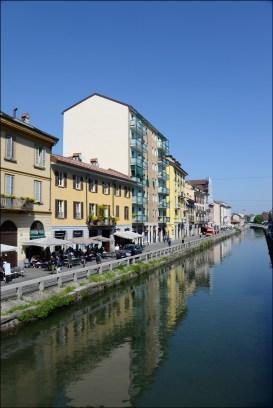 Naviglio neighborhood, canal.