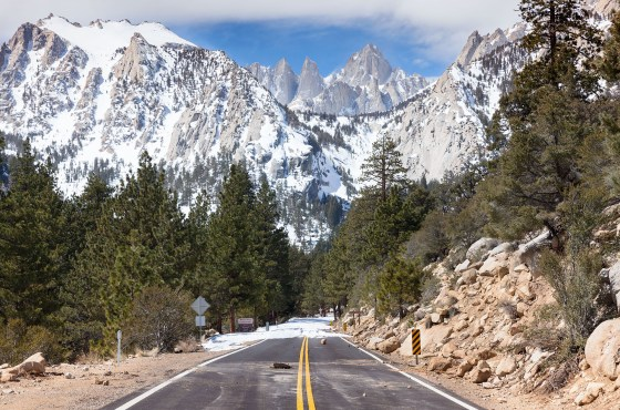 Whitney Portal Road 2017