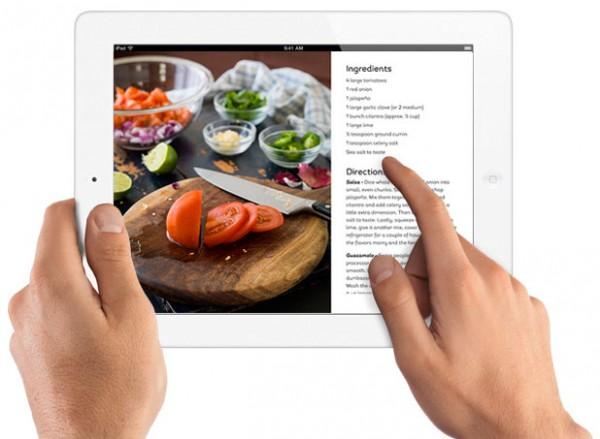 iPad recipe
