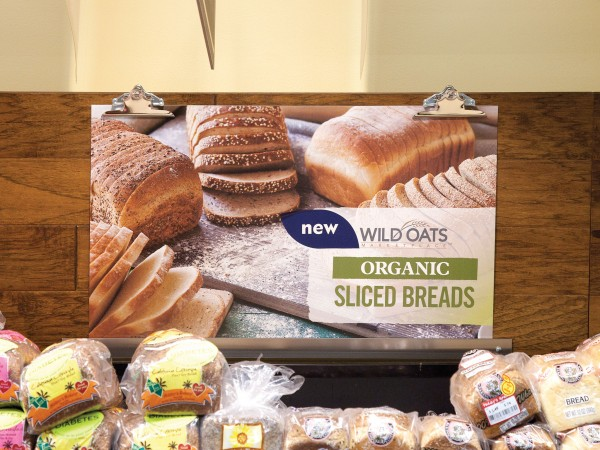 Fresh & Easy in-store display by Don Crossland