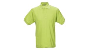M&S Textilien, POLO-PIQUÉ-SHIRT 1300-14 apfelgrün