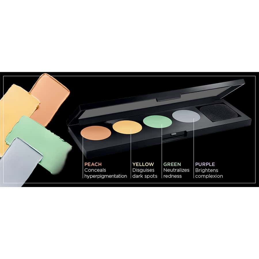 L'Oreal Infallible Total Cover Color Correcting Kit - палетка консилеров