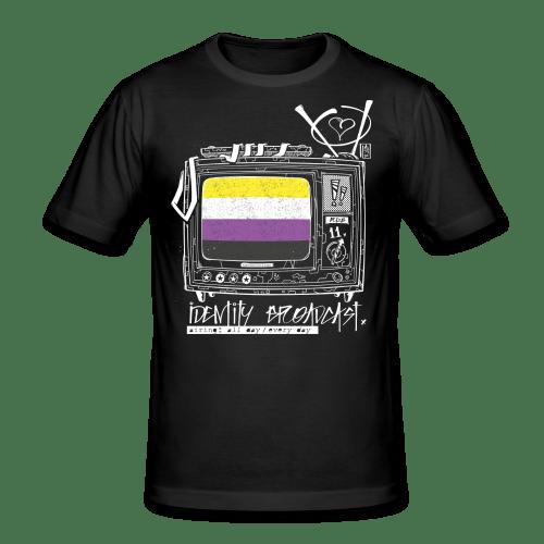Broadcast Your Identity T-Shirt (Non-Binary)