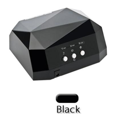 Led лампа 36 ватт UV 12 Вт + LED 24 Вт (черная)