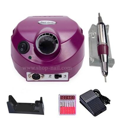 Машинка для маникюра US-202 фиолетовая