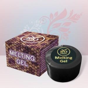 Melting Gel Гель краска с эффектом  Змеиной кожи 7 гр Белая