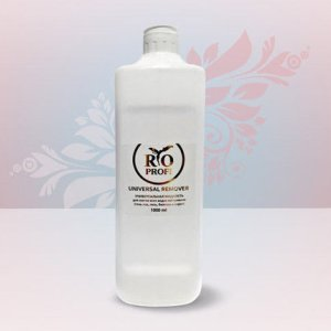 Универсальная жидкость для снятия гель лака, геля и биогеля и акрила 1л