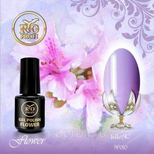 Каучуковый гель-лак Rio Profi серия Flower №10 Lilac, 3,5 мл