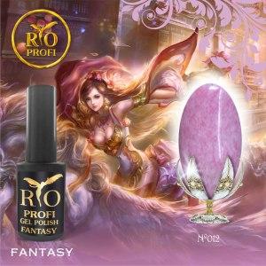 Гель-лак каучуковый Rio Profi серия Fantasy № 12, 7 мл
