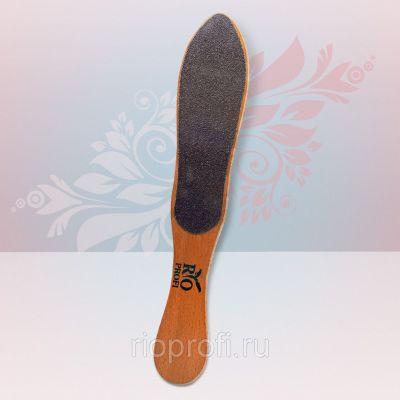 Rio Profi Терка для ног деревянная фигурная