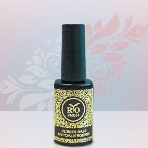 Rio Profi Rubber Base Hypoallergenic Каучуковая база без запаха Гипоаллергенная формула, 7 мл