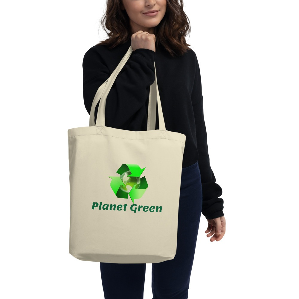 Earth Day Every Day Eco Tote Bag Eco Friendly Shopping Bags » Planet Green Eco-Friendly Shop