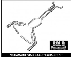 2010-2011 MACH-X-LLT with J-Pipes CAT Back Exhaust Kit