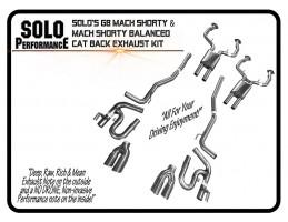 2008-2009 G8 Mach Shorty CAT Back Exhaust Kit Pontiac G8