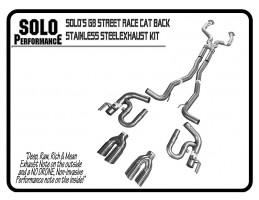 "V8 Pontiac G8, 2 ½"" Exhaust, Manual & Automatic (Years"
