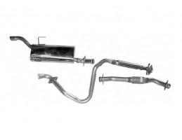 SAAB 900 1995-1998/SAAB 9-3 1999-2002 Cat Back Exhaust Kit