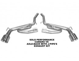 Axle-Back (2010–2015) with J-Pipes (Coupe/Auto & Manual)