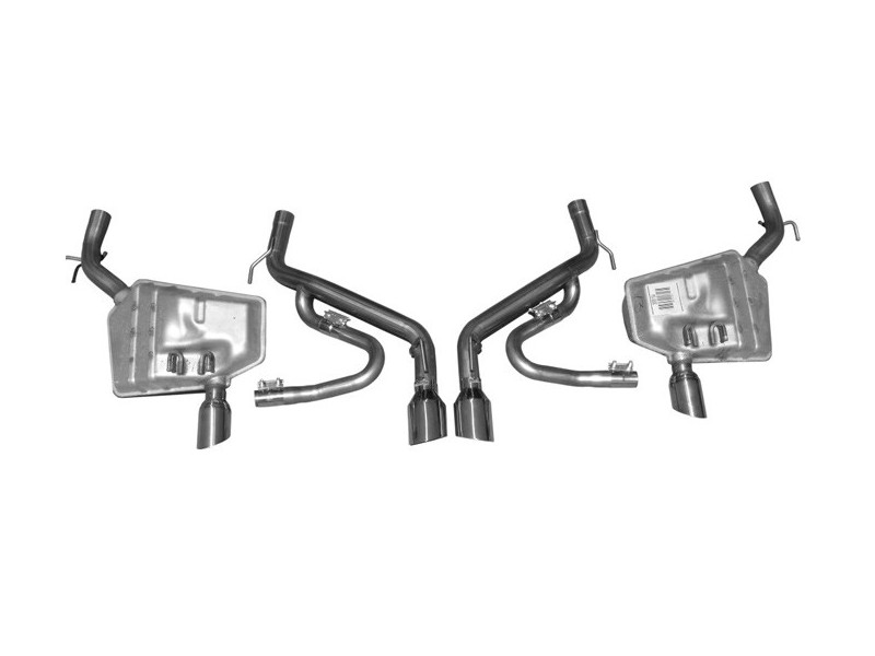 Axle-Back (2010–2015) with J-Pipes (Convertible/Auto & Manual)