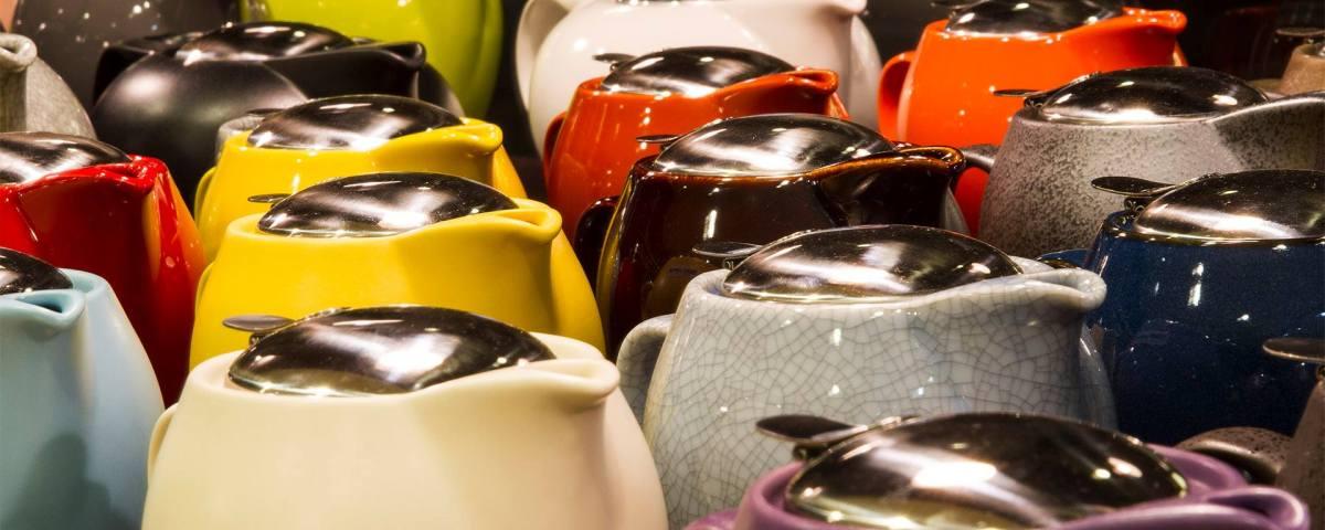 Hardware: Teekanne von Zero Japan in verschiedenen Farben