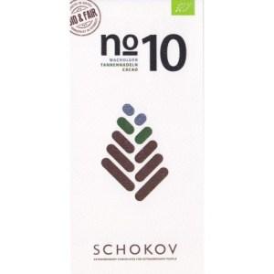 Schokolade No 10 Wacholder und Tannennadeln