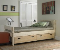 Storage Drawers: Double Beds With Storage Drawers Underneath