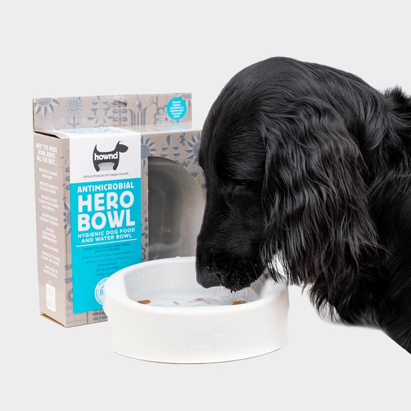 HERO Bowl von HOWND mit Hund