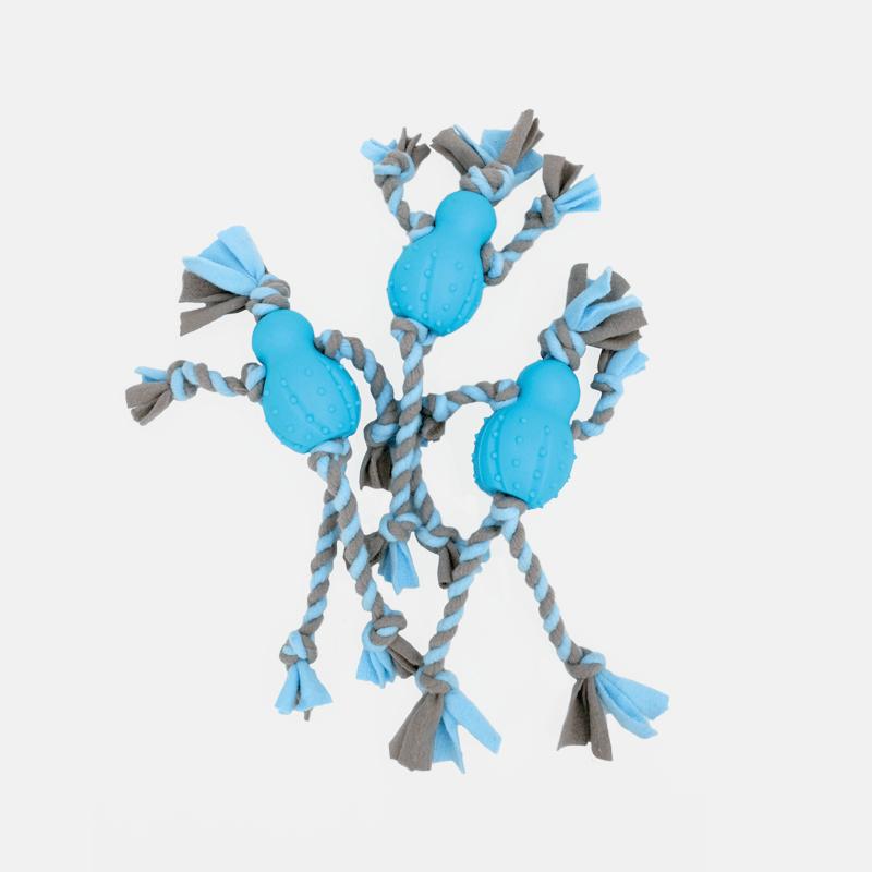Set blau Fleece Männchen Little Rascals von Happy Pet