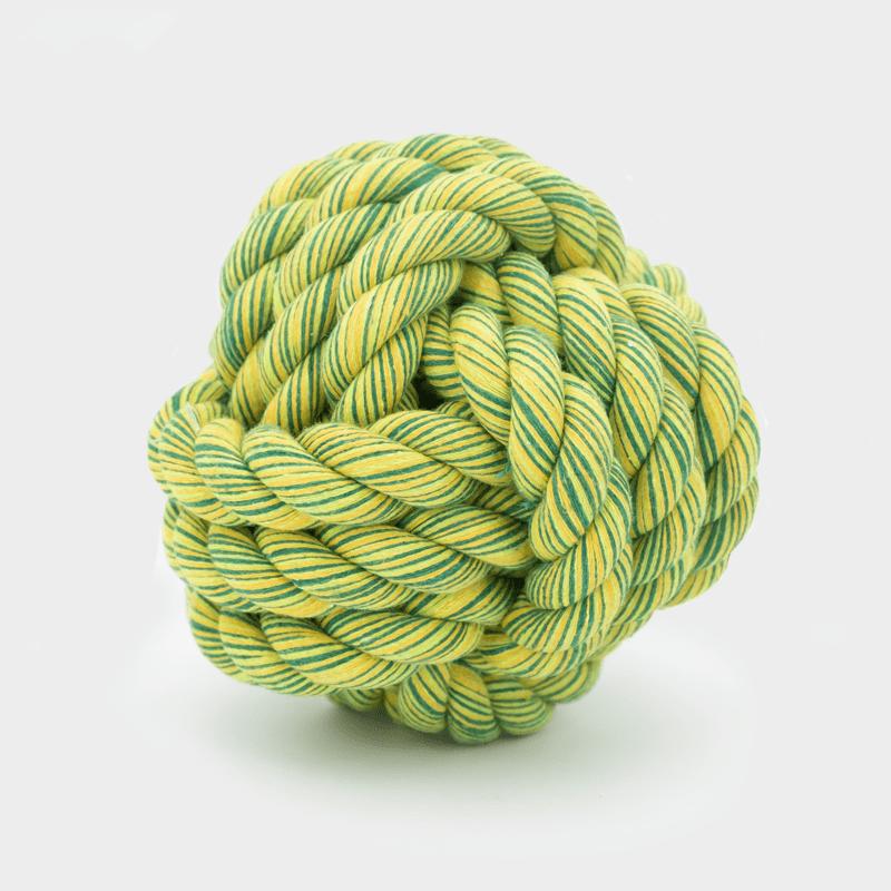 Grüner Nuts for Knots Ball von Happy Pet