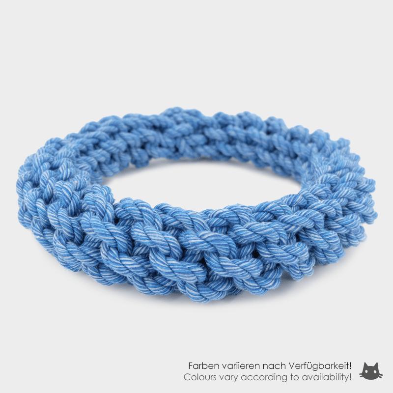 Blauer Nuts for Knots Ring von Happy Pet