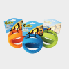 Interaktiver Fußball Grubber von Happy Pet in den Maßen 12 x 12 x 12 cm in den Farben orange, blau und grün