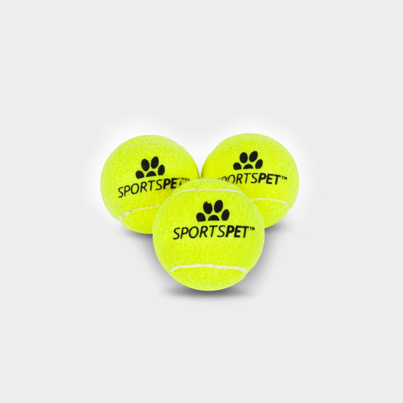 Tennisball 65 mm Ø ohne Quietscher von SPORTSPET