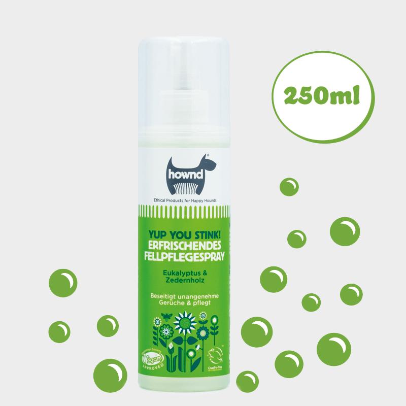 Erfrischendes Fellpflegespray Yup You Stink! von HOWND geruchsneutralisierend 250 ml