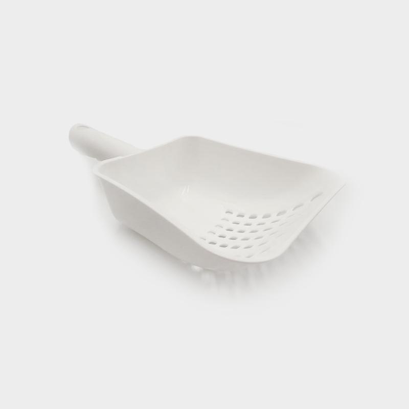 Mehrzweck-Schaufel Chipie von Rotho MyPet in der Farbe Weiß