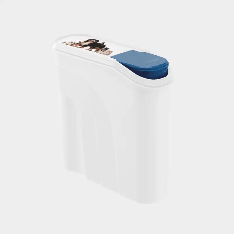 Weiße Futter Schüttdose Keeper 4,1 l von Rotho MyPet