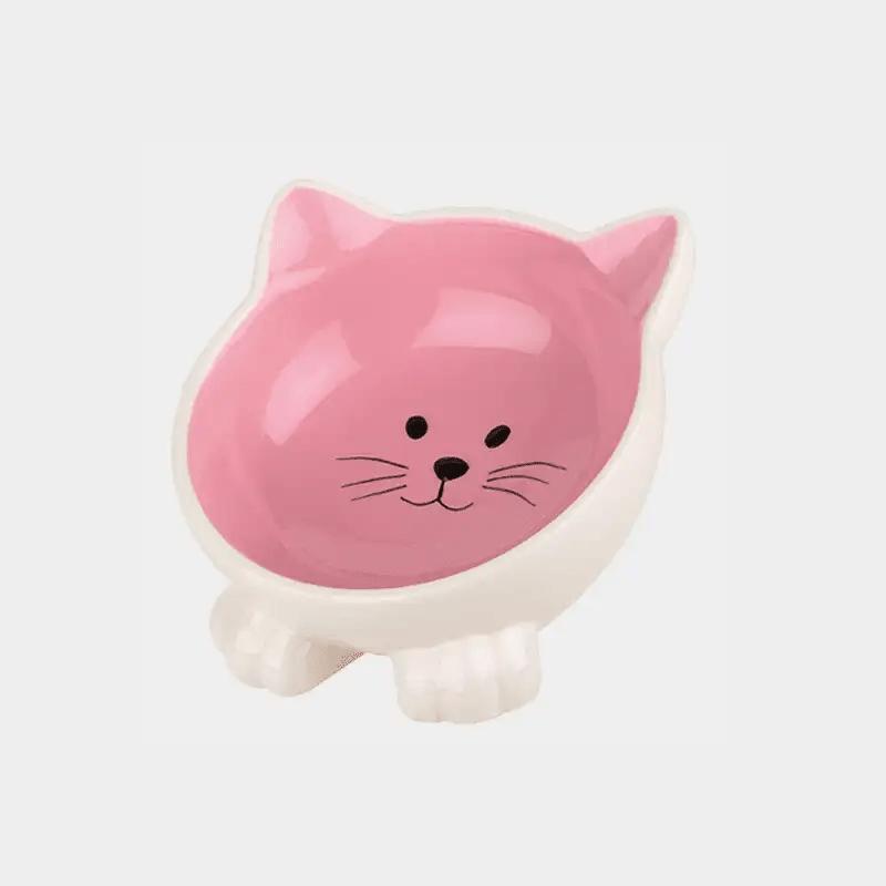 Happy Pet Orb Katzennapf in der pinken Variante