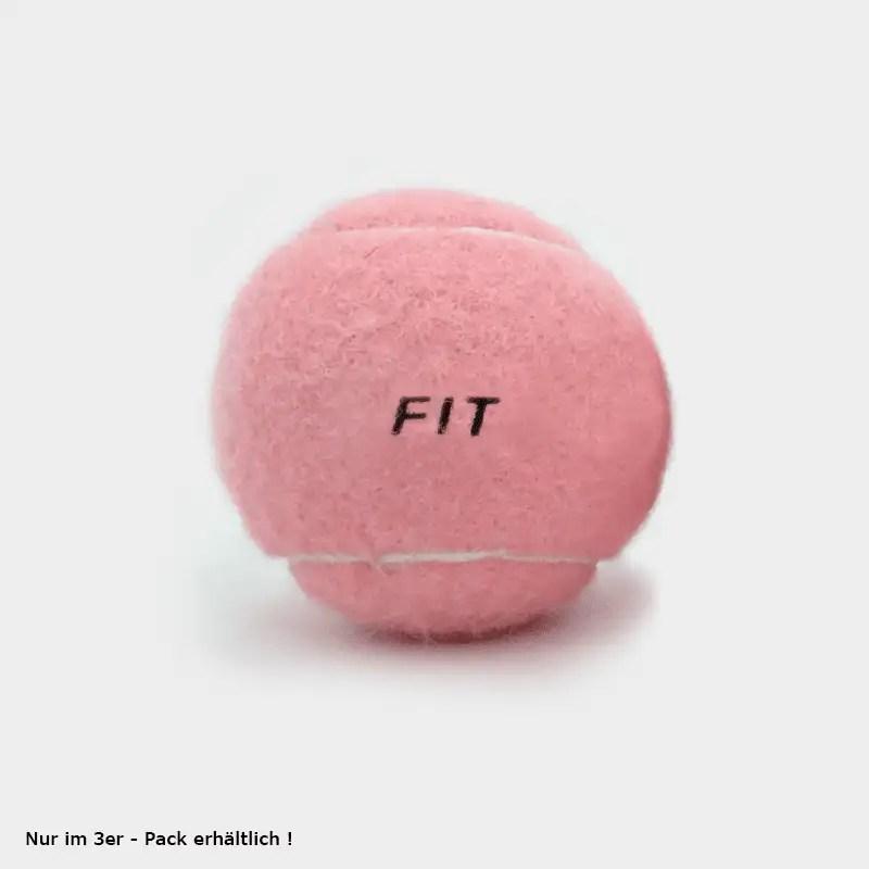 SPORTSPET Tennisbälle pink mit