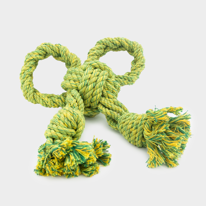 Green Nuts for Knots bow size L by Happy Pet