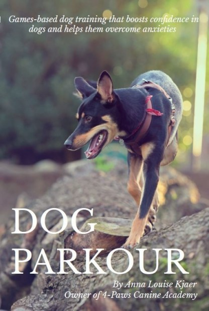 dog parkour book front cover