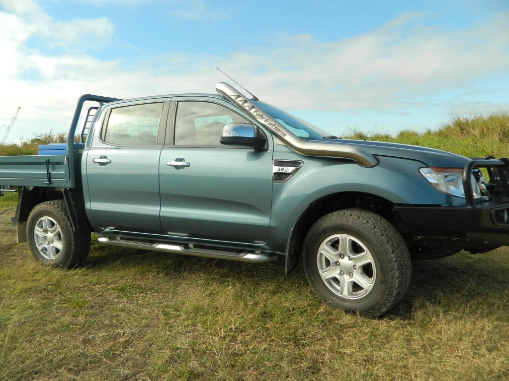 Ford Ranger Px 3 2l Snorkel Aaa Exhaust Amp Fabrications
