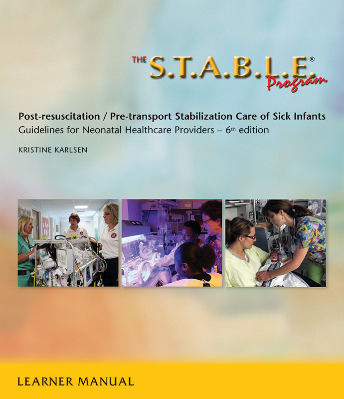 The STABLE Program Learner Manual 6th Edition Paperback  AAP